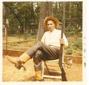 Homer Mead Speegle (1896-1979). The Speegles' early cow camp was located along Deer Creek between Ishi's Lower and Upper Camps.